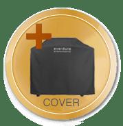 FORCE Gasgrill Graphite inkl. cover og grillplade