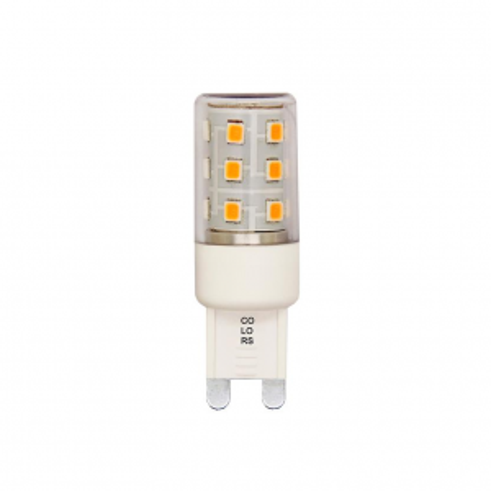 G9 5W LED 3-trins dæmp