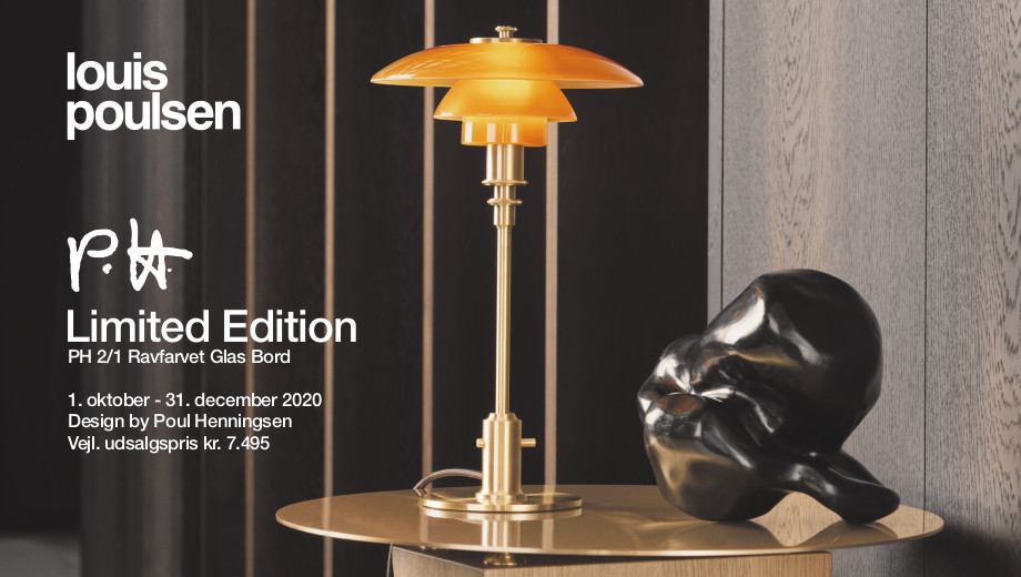 Louis Poulsen Limited Edition PH 2/1 Bordlampe