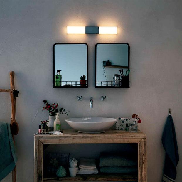 Belysning til badevaerelset- Fri fragt