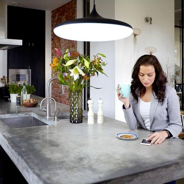 Designlampe til spisebordet - Fri fragt