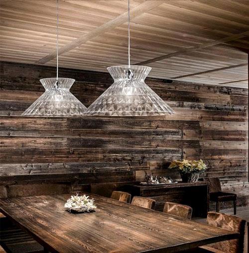 Designlampe til spisebordet