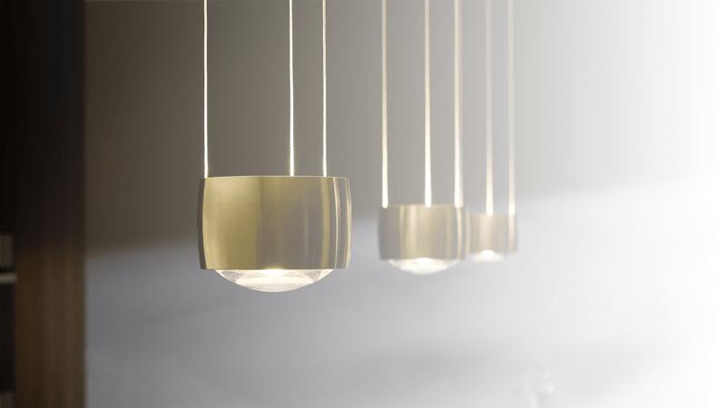 Køb Occhio Sento, Piú og Sento Sospeso lamper i højeste kvalitet med prisgaranti
