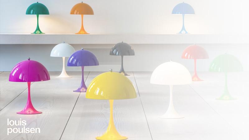 Køb Louis Poulsen Panthella lamper online med prisgaranti