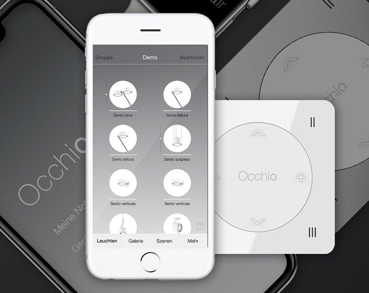 Occhio belysning med app styring - køb online med vejledning