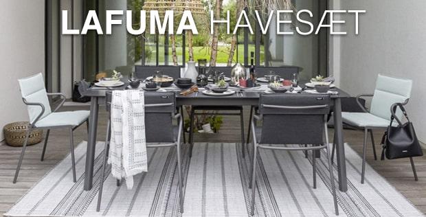 havemøbler fra Lafuma - køb online med fri fragt