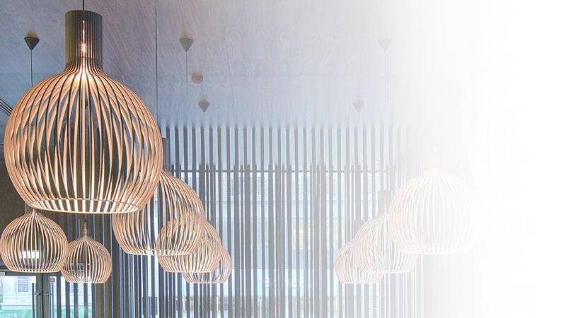 Køb Secto Design lamper i træ online med fri fragt