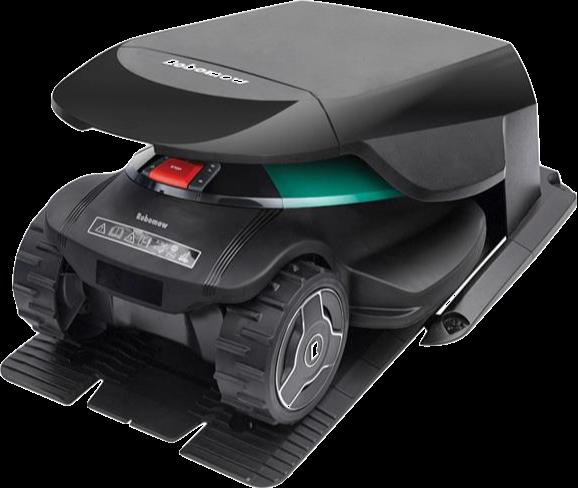 robotplæneklippere garage - en RoboHome beskytter robotten
